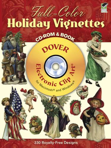 Full Color Holiday Vignettes CD ROM and Book