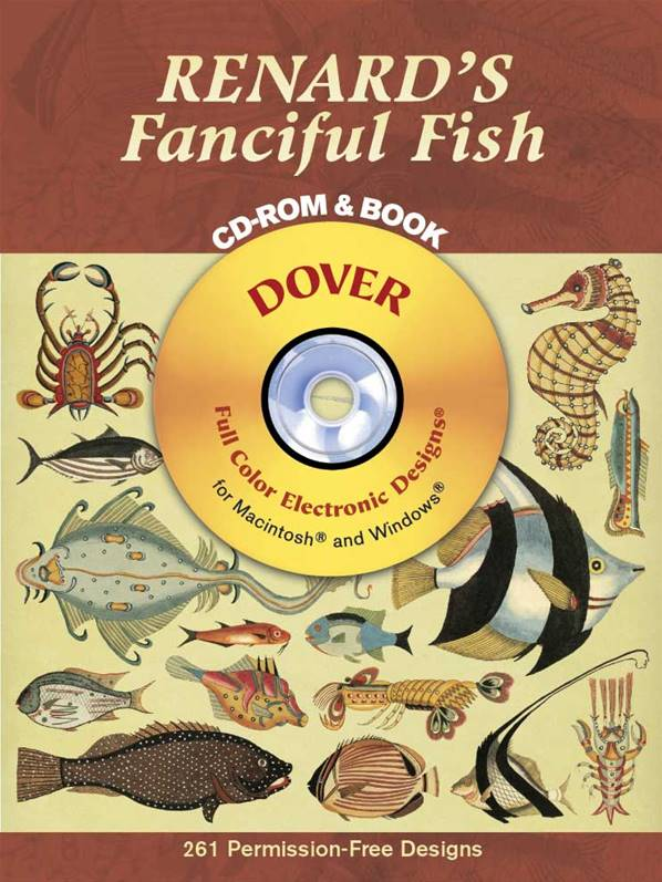 Renard's Fanciful Fish CD Rom and Book