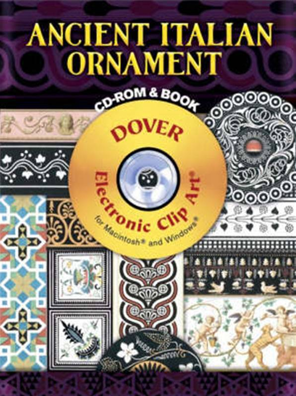 Ancient Italian Ornament CD Rom and Book