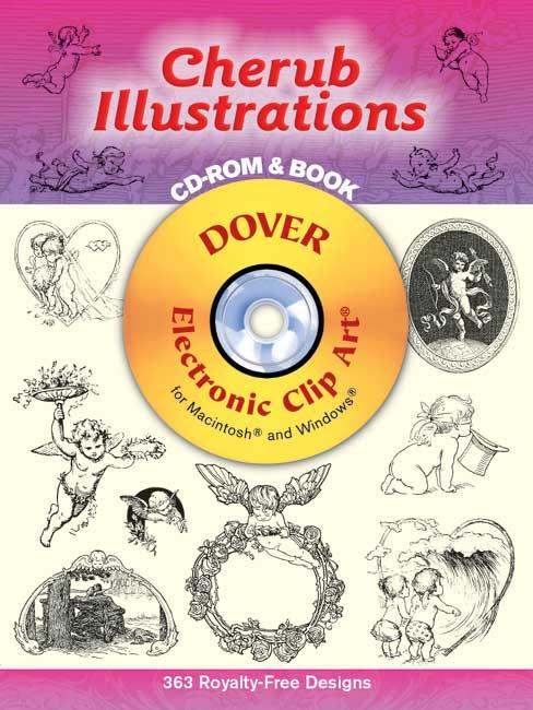 Cherub Illustrations CD-ROM and Book