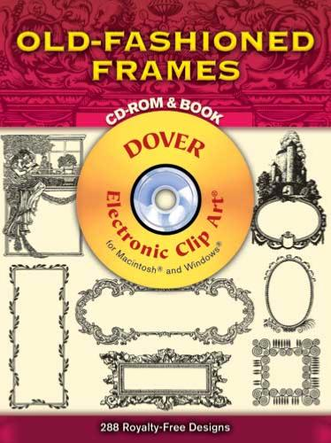 Old Fashioned Frames CD-ROM and Book