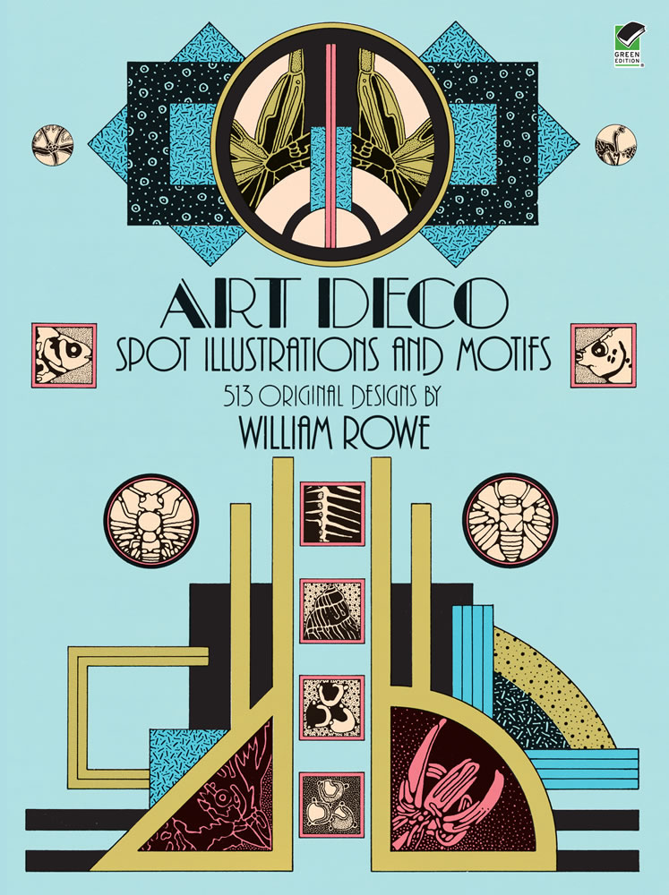 Art Deco Spot Illustrations and Motifs - 513 Original Designs