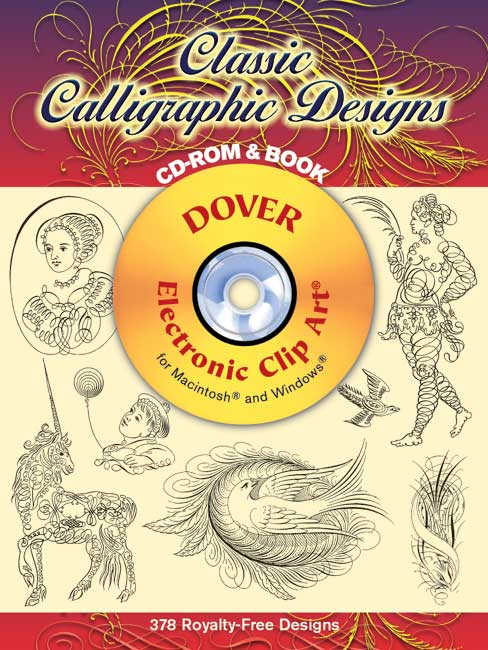 Classic Calligraphic Designs Cd Rom And Book