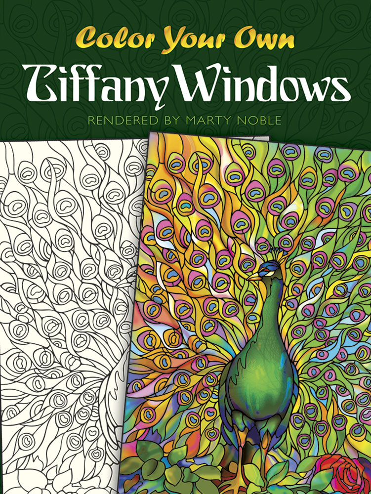 Color Your Own Tiffany Windows