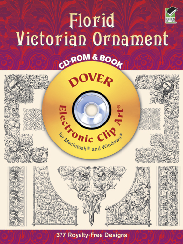 Florid Victorian Ornament CD-ROM and Book