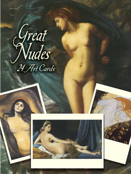Great Nudes - 24 Art Cards