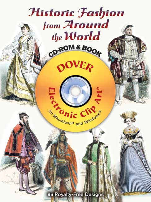 Historic Fashion from Around the World CD ROM and Book