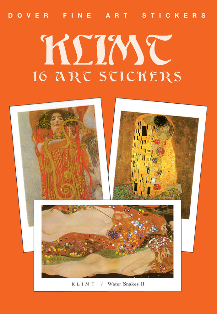 Klimt: 16 Art Stickers