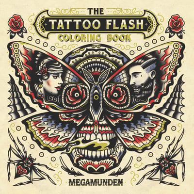 The Tattoo Flash Colouring Book